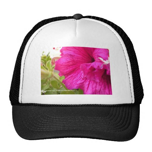 Pink Flower Trucker Hat