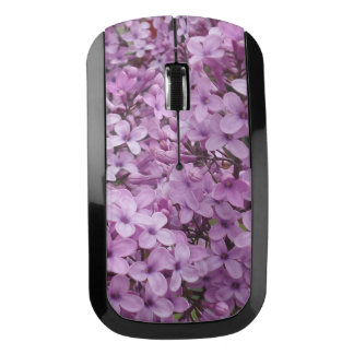 Pink Flower Wireless Mouse