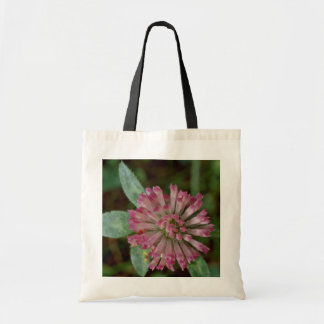 Pink Flower With Tubular Petals flowers Budget Tote Bag