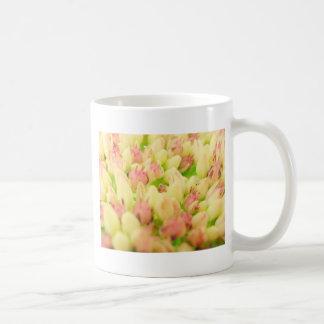 Pink Flowerbed Coffee Mug