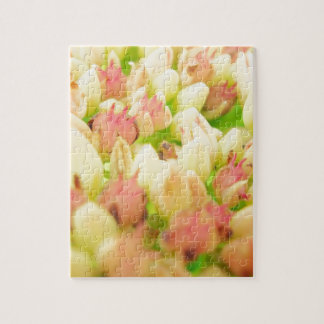 Pink Flowerbed Puzzle