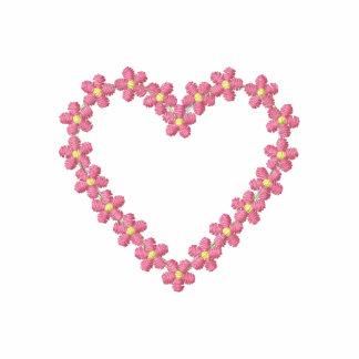 Pink Flowered Heart