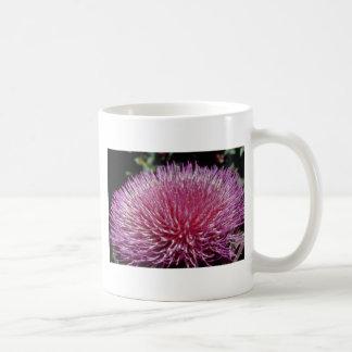 Pink Flowering artichoke (Cynara spp.) flowers Coffee Mugs