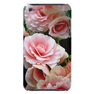 Pink Flowering Begonia iTouch Case iPod Case-Mate Cases