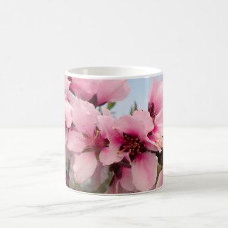 Pink Flowering Branch Mug