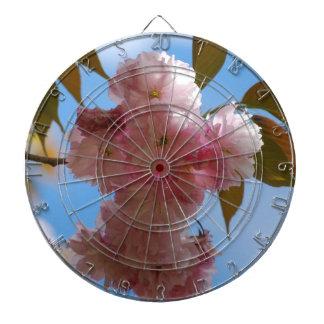 Pink Flowering Cherry Tree Dart Boards