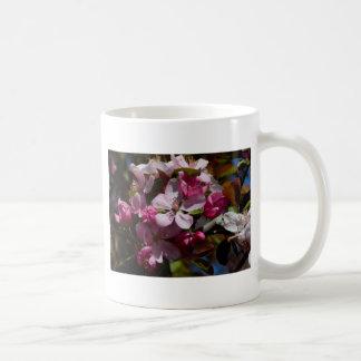 Pink Flowering Crabapple Blooms Coffee Mug