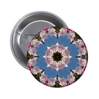 Pink Flowering Crabapple Kaleidoscope Pins