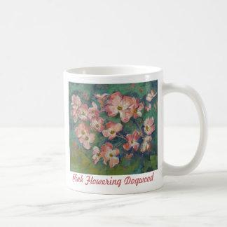 Pink Flowering Dogwood Mug