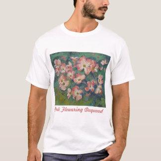 Pink Flowering Dogwood T-Shirt