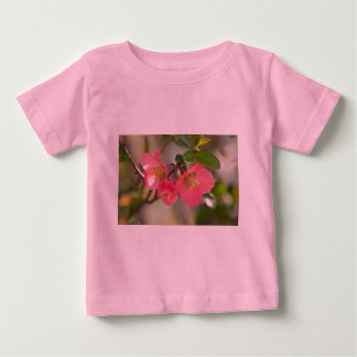 Pink Flowering Quince Glow Shirt