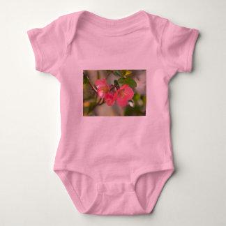 Pink Flowering Quince Glow Tee Shirt