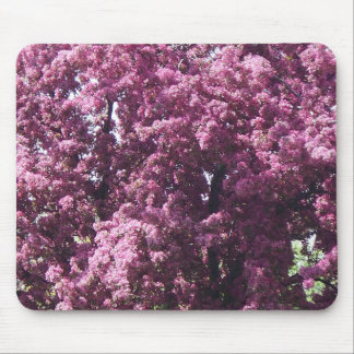 Pink Flowering Tree Mousepad