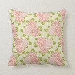Pink Flowers (7) Pillow