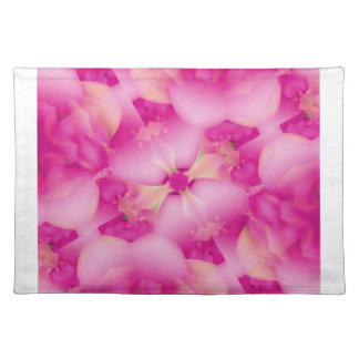 Pink Flowers American MoJo Placemats