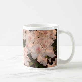 Pink Flowers, Azalias Classic White Coffee Mug
