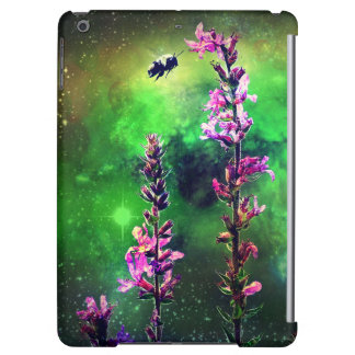 Pink Flowers & Bee Against The World iPad Air Case