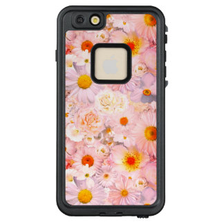 Pink Flowers Bouquet Floral Wedding Bridal Spring LifeProof FRĒ iPhone 6/6s Plus Case