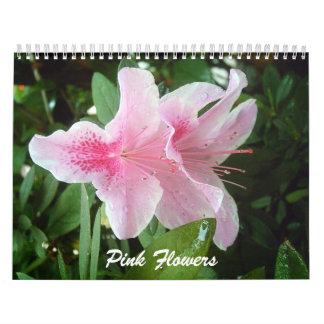 Pink Flowers Calendar