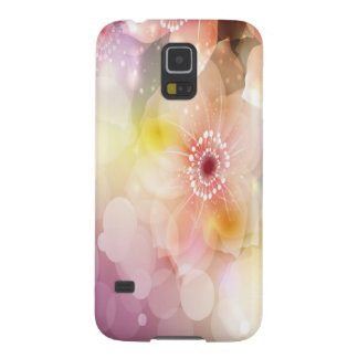 Pink Flowers Galaxy S5 Cover