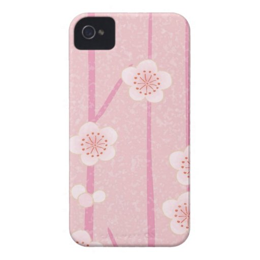 Pink flowers Case-Mate iPhone 4 case