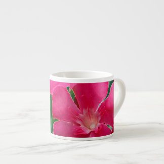 Pink Flowers Espresso Cup