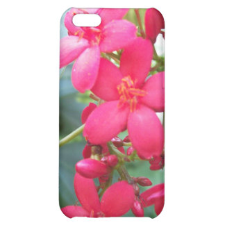 Pink flowers floral nature cover for iPhone 5C