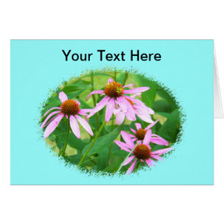 Pink Flowers for Any Occasion Card