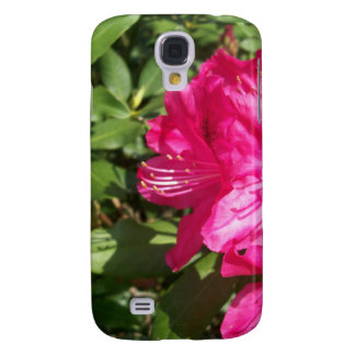 Pink Flowers Galaxy S4 Cover
