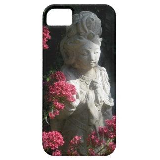 Pink Flowers Guan-Yin iPhone 5 Case