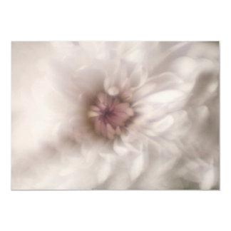 "Pink Flowers Invitation 5"" X 7"" Invitation Card"