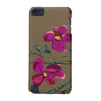 Pink Flowers>Ipod Touch Hard Case