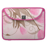 Pink Flowers Macbook Pro 15 Laptop Cover Sleeves For MacBook Pro