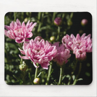 Pink Flowers Mouse Pad