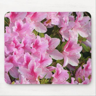 Pink Flowers Mousepad
