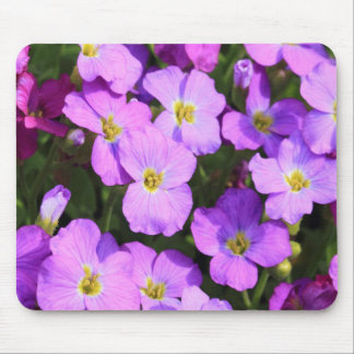 Pink Flowers Mousepad Mouse Pads