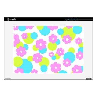 Pink flowers pattern musicskins_skin