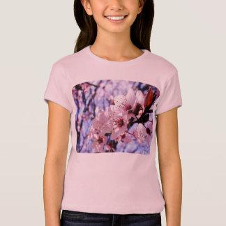 Pink Flowers Photo T-Shirt