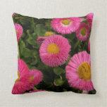 Pink Flowers Pillow