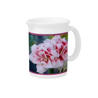 Pink Flowers Pitcher