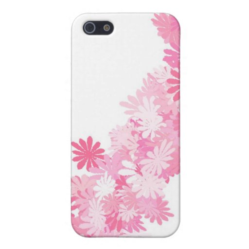 Pink Flowers pretty iPhone 5/5S Covers