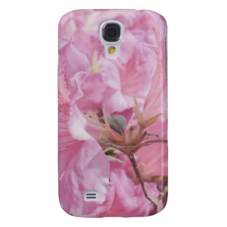 Pink Flowers Samsung Galaxy S4 Cover