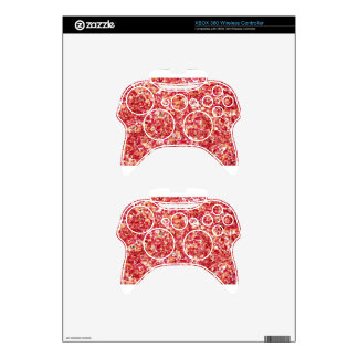 Pink Flowers Xbox 360 Controller Skin