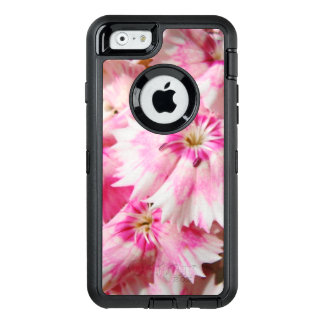 Pink Flowers Sweet William OtterBox Defender iPhone Case