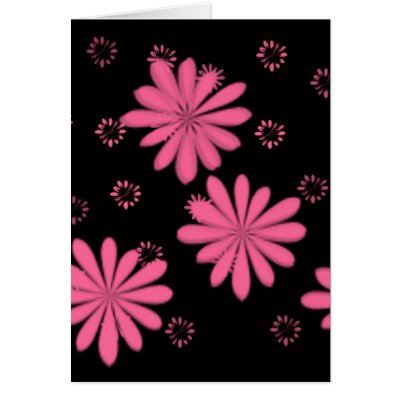 pink flowers background. Product Design