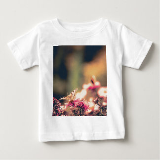 Pink Flowers with Butterfly Filtered Baby T-Shirt