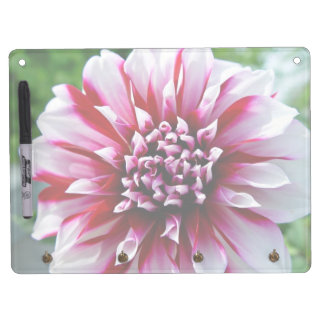 Pink Flowers with various shades of pink Dry-Erase Whiteboards