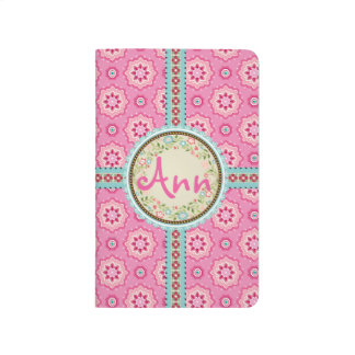 Pink & Flowery... Journal