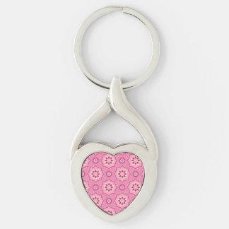 Pink & Flowery... Keychain