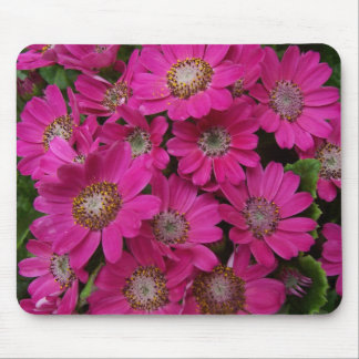 Pink flowery Mousepad